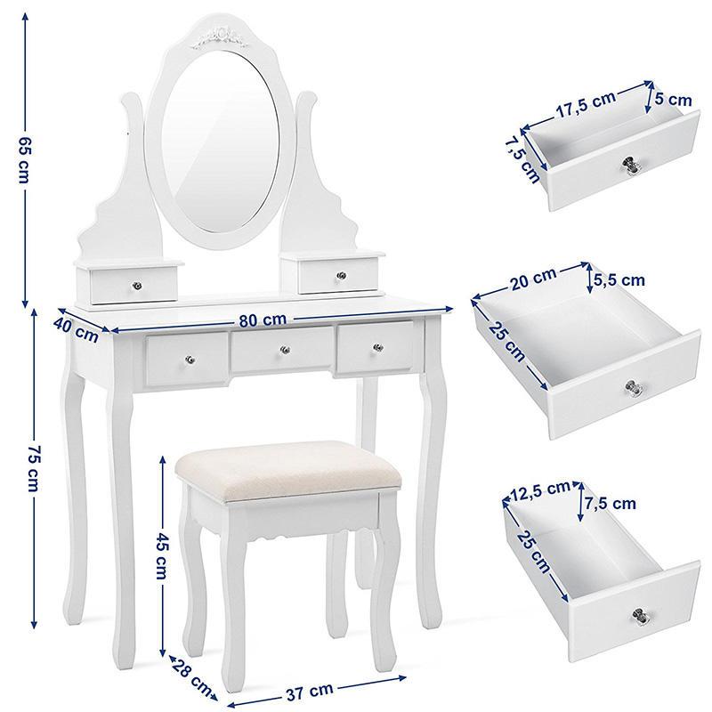 Toaletni stolić Elizabeth Charlotte