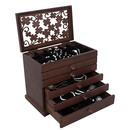 Smeđe kutije za nakit